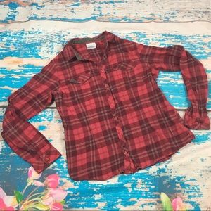 Columbia flannel shirt medium